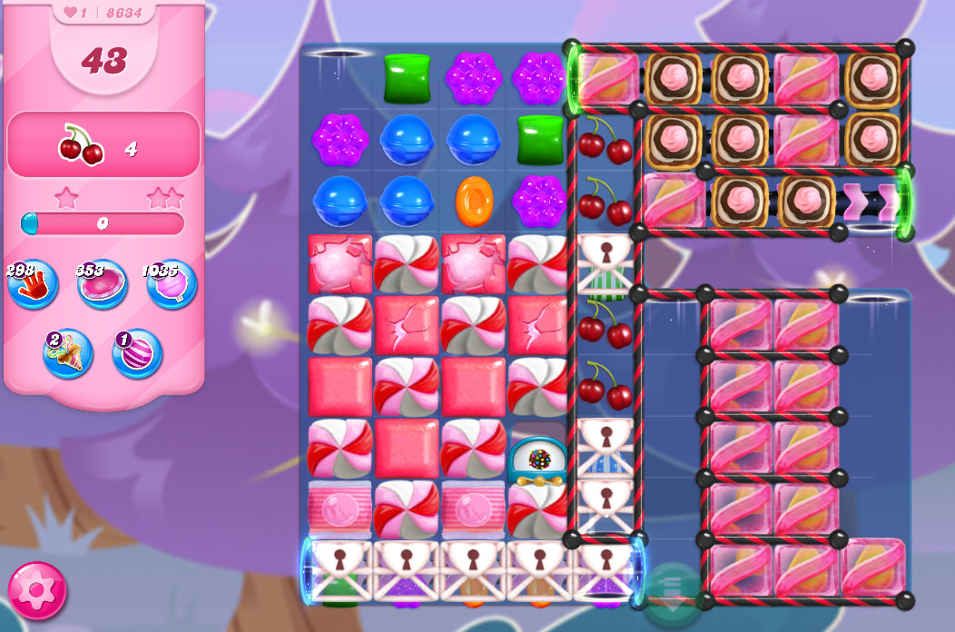 Candy Crush Saga level 8634