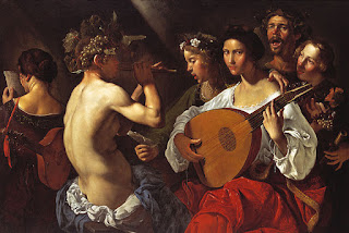 Paolini's Bacchic Concert, which is in the collection of the Dallas Museum of Art
