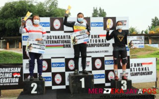 Kejuaraan ICF BMX National Championship 2021 Yogyakarta Terapkan Prokes Ketat