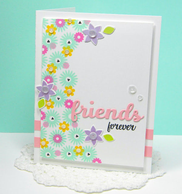 Sunny Studio Stamps: Friends & Family and Color Me Happy cards by Melissa Bickford.