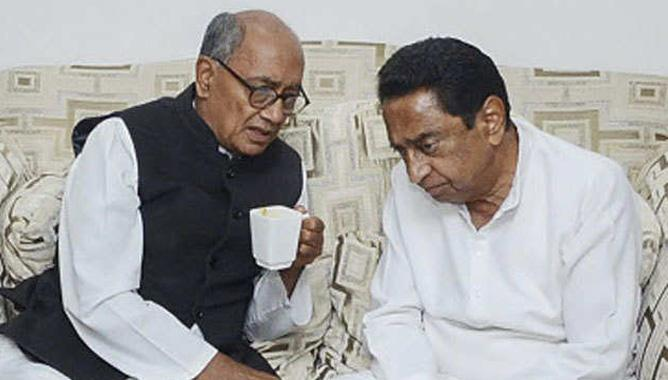 Congress gives up hope Digvijay Singh refuses to contest Kamal Nath govt polls,www.thekeralatimes.com