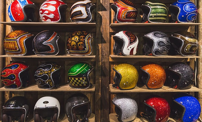 Sempre use capacete