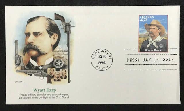 Wyatt Earp 1994 FDC