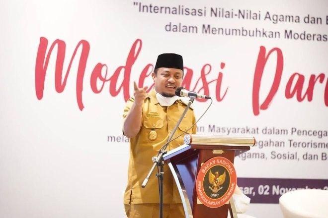 Plt Gubernur Sulsel Izinkan Salat Tarawih Idulf Fitri di Masjid
