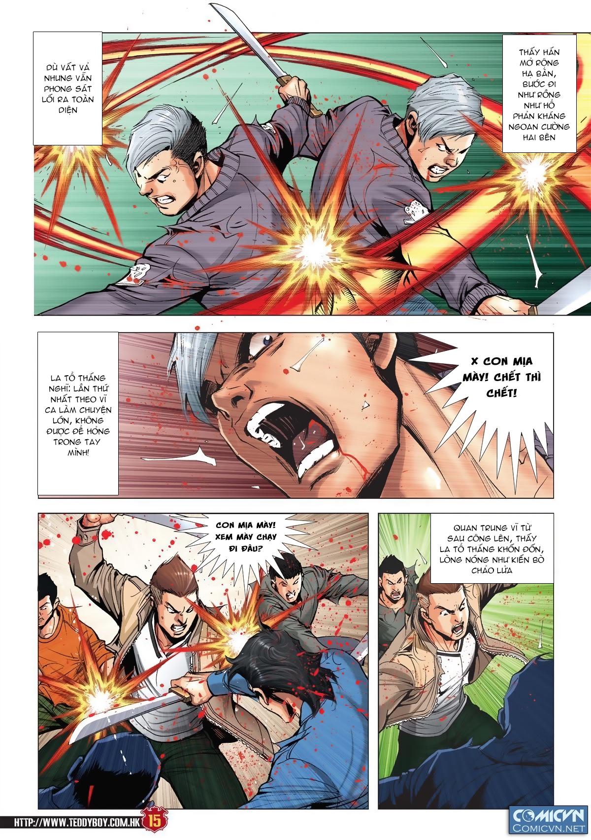 Người Trong Giang Hồ chapter 1986: chạy trang 13