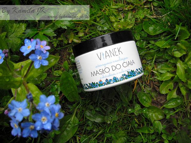 Vianek Nawilżające masło do ciała polskie kosmetyki naturalne