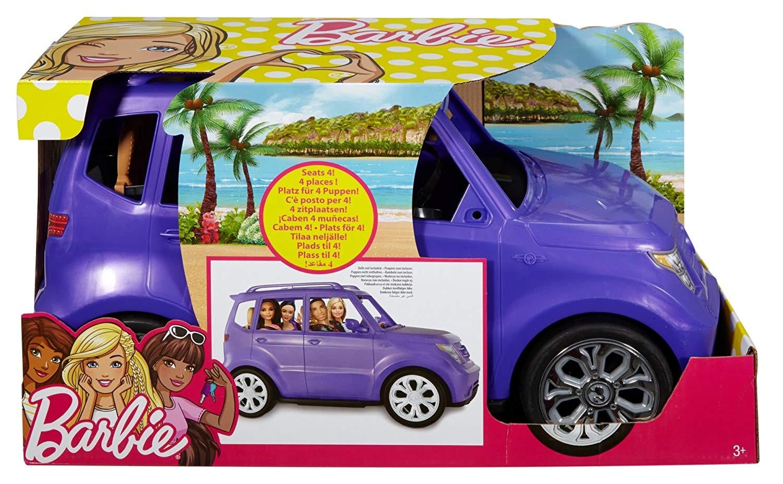 Barbie Coche mu/ñecas Fin De Semana Mattel DVX58