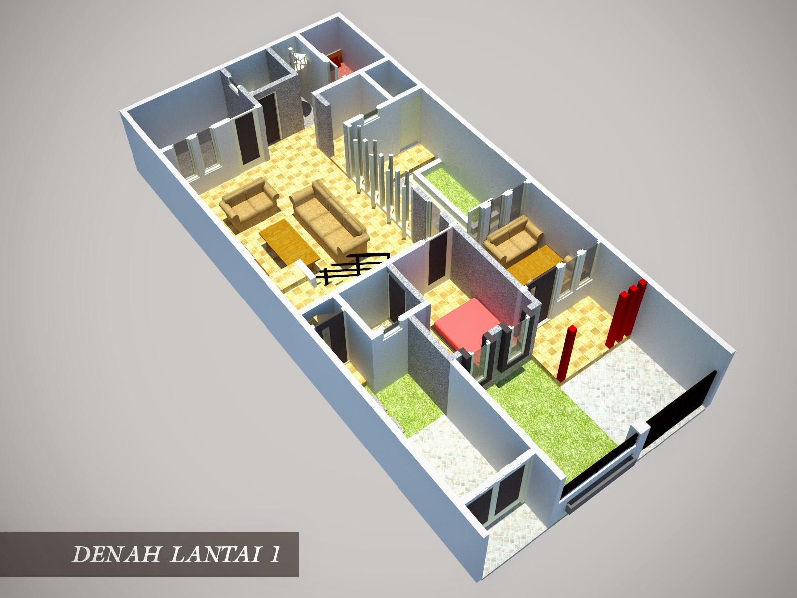 Desain Rumah Minimalis 1 Lantai Ukuran 6x9 Desain Rumah Minimalis