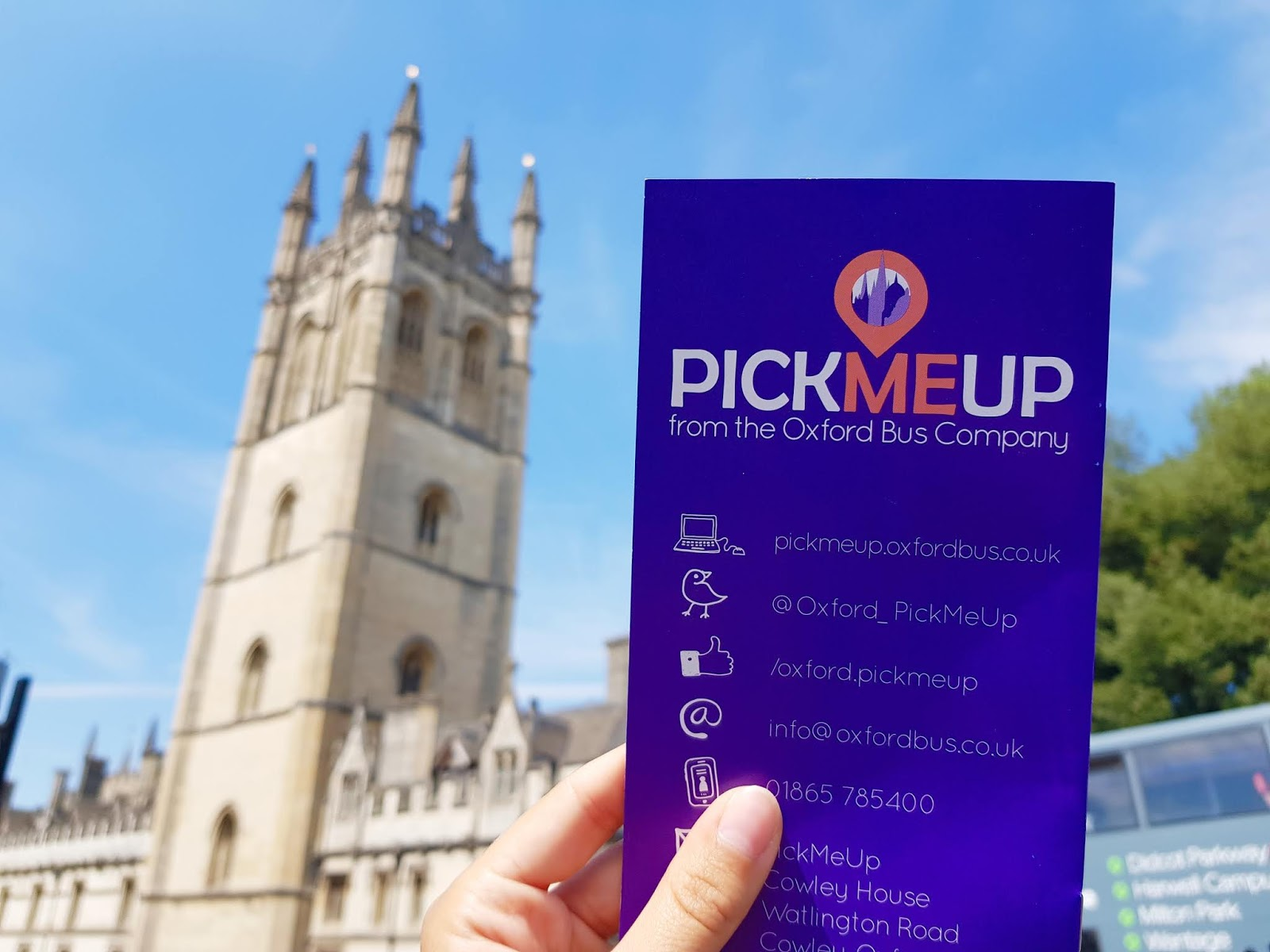 oxford travel local visit tourist pick me up service oxford bus company
