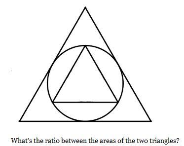 Pat'sBlog: Two ways to Solve a Geometry Problem