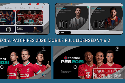 SPECIAL PATCH PES 2020 MOBILE V4.6.2 BY IDSPHONE