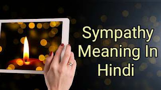 Sympathy Meaning In Hindi