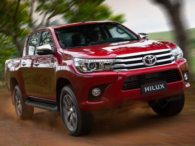 Nova Toyota Hilux 2017