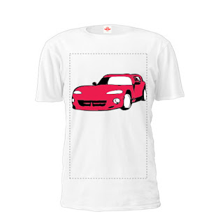 Car Printed T Shirts