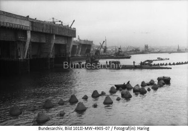 U-84 at Brest, 14 May 1942 worldwartwo.filminspector.com