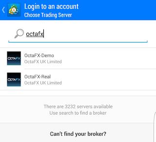 Install MetaTrader 4 pada OS Android