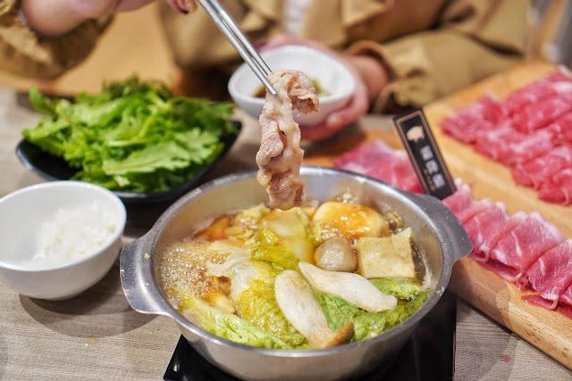台南北區美食【富士匠鍋物】餐點介紹-霜降豬