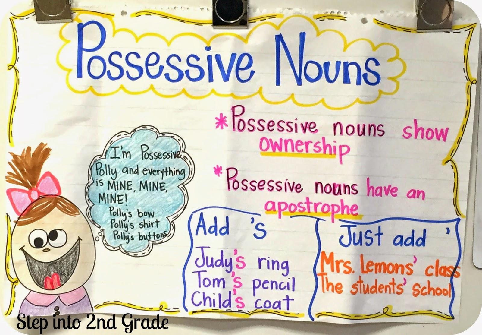 Possessive Nouns | Step into 2nd Grade with Mrs  Lemons | Bloglovin'