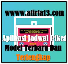 Aplikasi Jadwal Piket Model Terbaru Dan Terlengkap