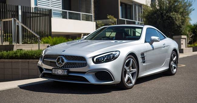 2018 Mercedes-Benz SL400 New Design Review