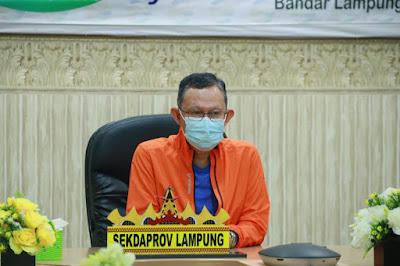 Pemprov Lampung Mengikuti Peringatan Haornas 2020 Secara Daring