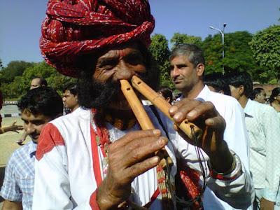nose-flute