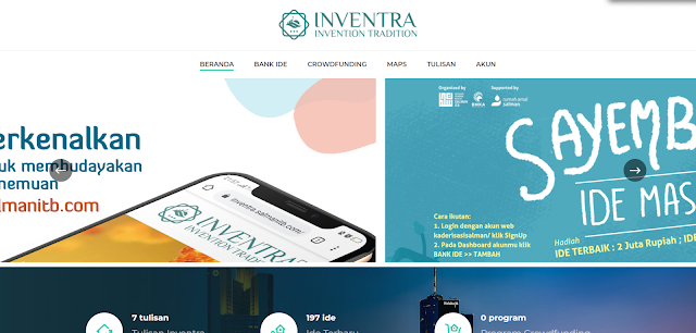 Website Invention Tradition Inventra