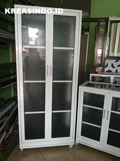 Rekomendasi Lemari Baju Aluminium Full Keren Banget Jual Custome