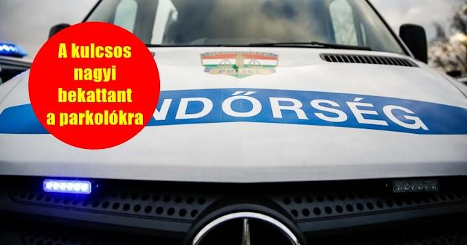 Autókat rongáló nagyit fogtak az esztergomi rendőrök