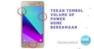Reset Samsung J2 Prime