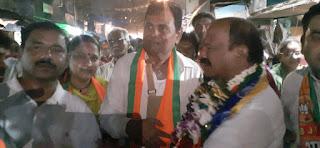 युति के उम्मीदवारों के पक्ष में रानी लक्ष्मीबाई क्रांतिकारी पार्टी के प्रदेश अध्यक्ष रणजीत पटवा का तूफानी प्रचार