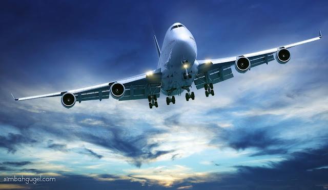 makna mimpi naik pesawat lengkap