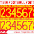 🔥🔥🔥Colombia 2020 Football Font Free Download by M Qasim Ali