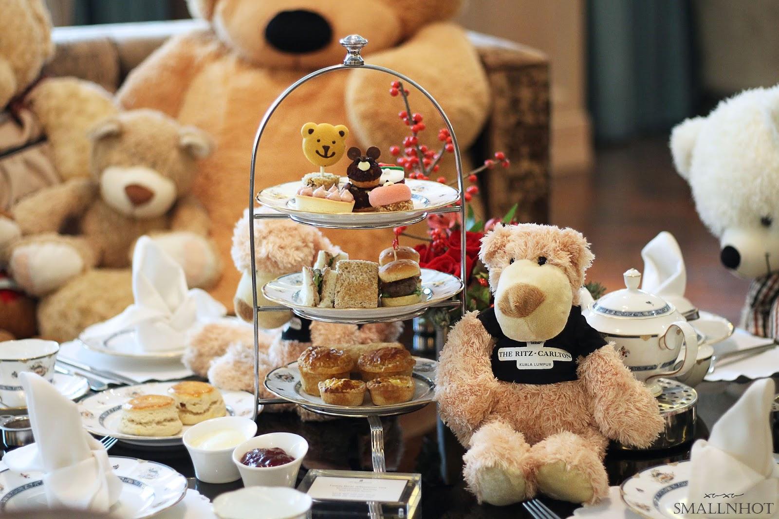 Teddy Bear Afternoon Tea @ The Private Room, The Ritz-Carlton KL ...