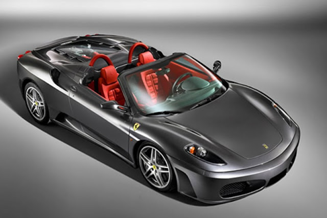 The football star owns the Ferrari 599 GTO