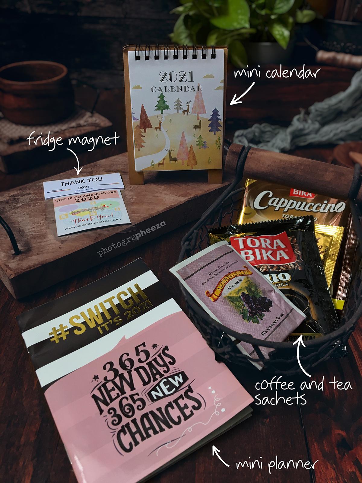 Blogger Sunah Sakura Bagi Hadiah