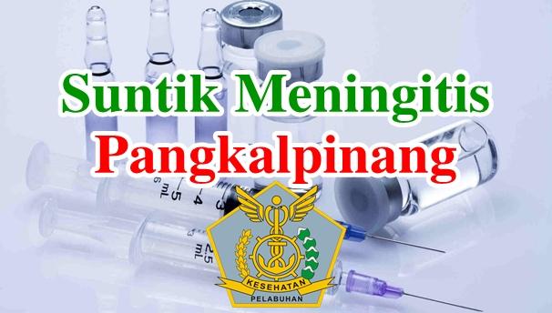 Alamat Tempat Suntik Vaksin Meningitis di Pangkalpinang