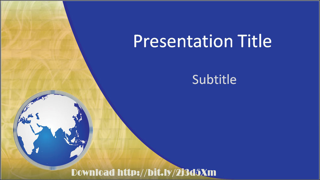 Download Awesome Global Business Powerpoint Template With