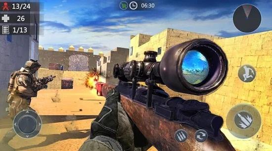 Gun Strike Counter Terrorist 3D Shooting Games