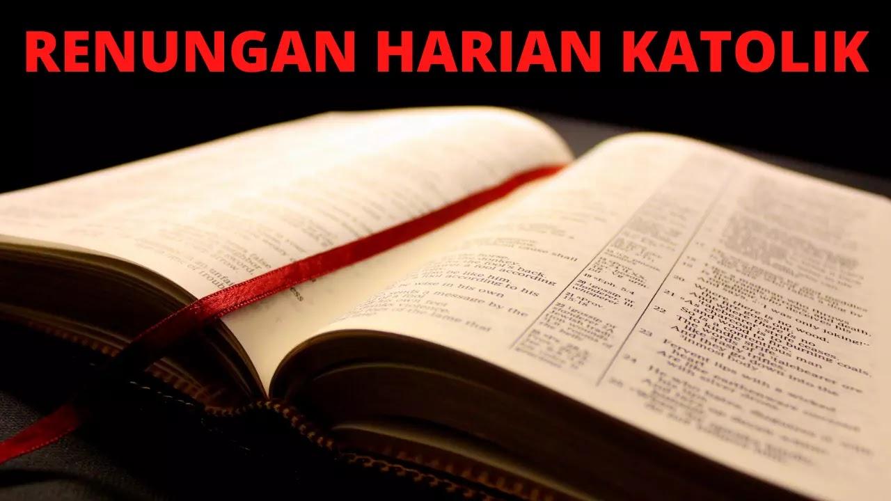 Renungan, Harian, Katolik, Mei, 2022, Alkitab, Bacaan, Injil, Renungan Harian Katolik, Senin 30 Mei 2022