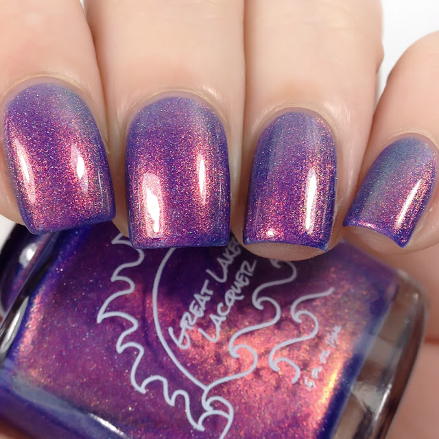 Great Lakes Lacquer-Dusk on The Shores of Portage