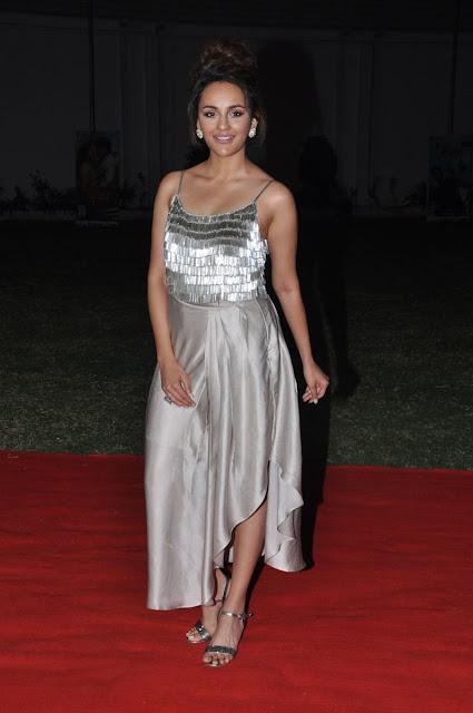 Seerat Kapoor Stills at Okka Kshanam Pre Release Event