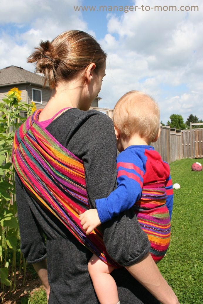 Manager To Mom Maya Wrap Ring Sling From Baby On The Breast Review