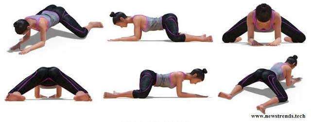 Frog pose Yoga - newstrends