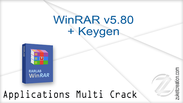 WinRAR v5.80 + Keygen