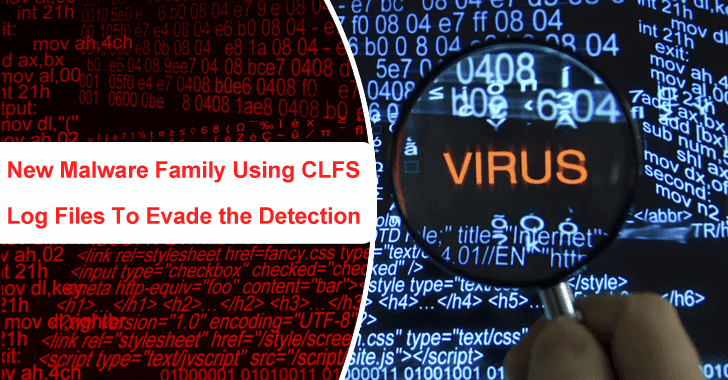New Malware Family Using CLFS Log Files To Evade Detection