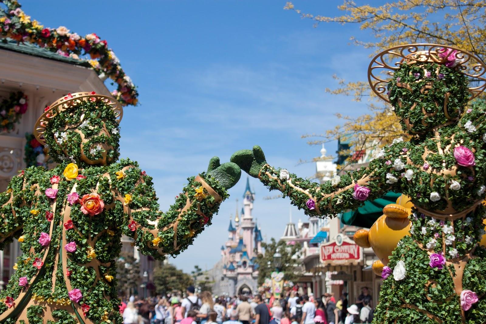 printemps à Disney