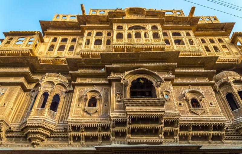 Bikaner & Jaisalmer - Nathmal Ki Haveli