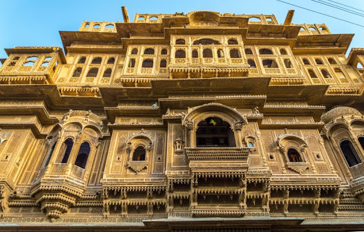 A Tryst with Royalty - Bikaner & Jaisalmer - Day 3 - The Havelis of Jaisalmer - Part 2