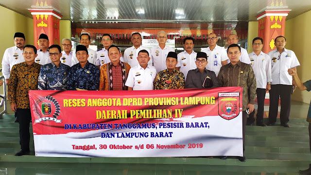 Reses ke Lambar, Aleg Lampung Serap Aspirasi